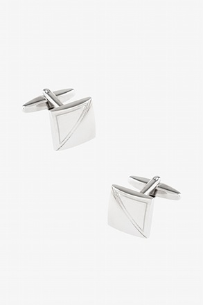 Square Accute Cufflinks