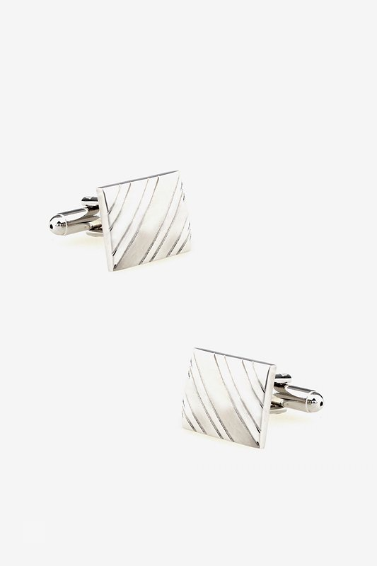 Square At an Angle Cufflinks Photo (0)
