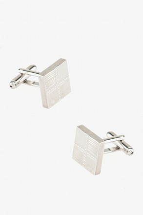 Square Intersections Cufflinks