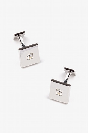 _Square Stud Cufflinks_