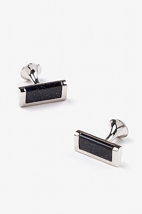Starry Night Sky Bar Cufflinks