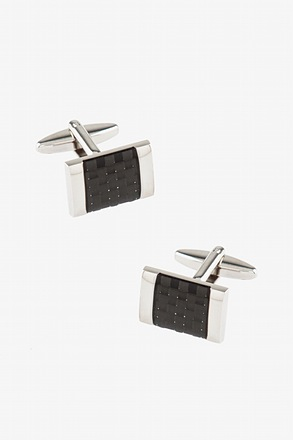 The Carbon Cufflinks
