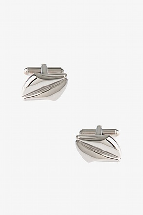 _Unique Solid Cufflinks_