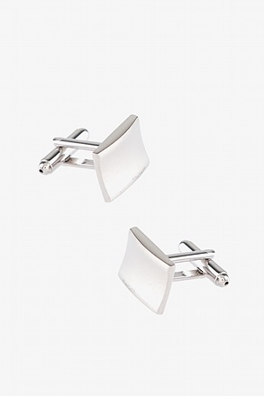 _Warped Rectangle Cufflinks_