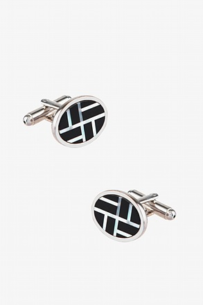 _Windmill Silver Cufflinks_