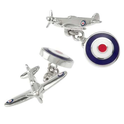 Flying Target Cufflink by Alynn Novelty