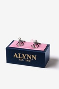 Ships Anchor Silver Cufflinks
