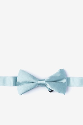Silver Sage Bow Tie For Boys