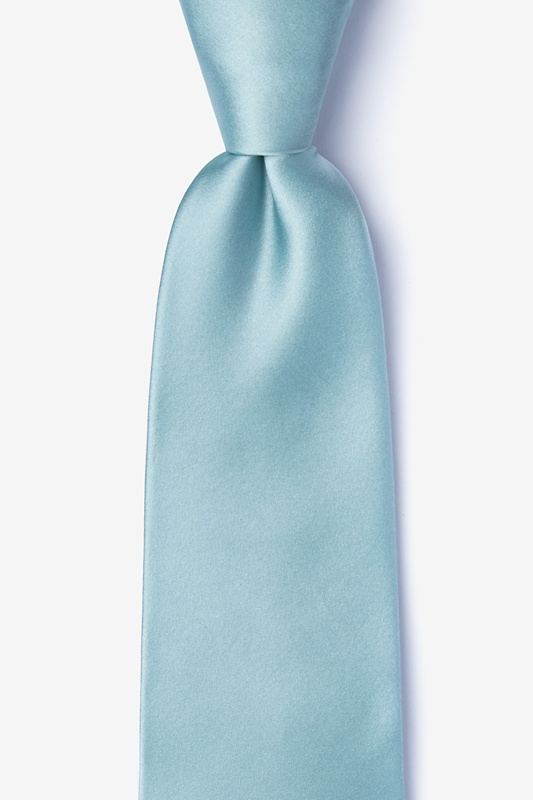 Silver Sage Extra Long Tie Photo (0)