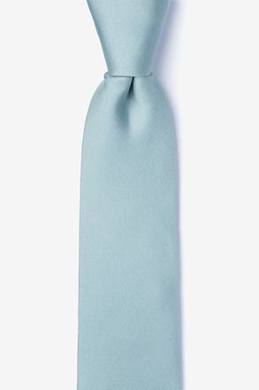_Silver Sage Tie For Boys_