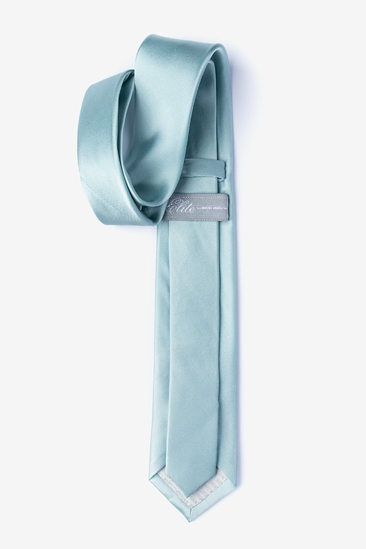Silver Sage Tie For Boys