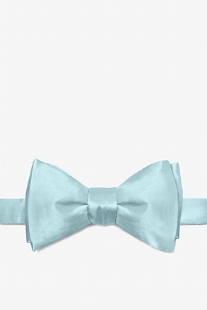 Sky Blue Butterfly Bow Tie