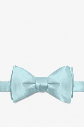 _Sky Blue Self-Tie Bow Tie_