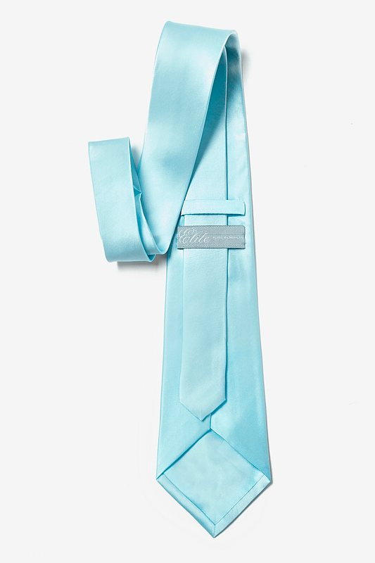 Sky Blue Tie For Boys Photo (2)