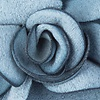 Slate Felt Blooming Flower Lapel Pin