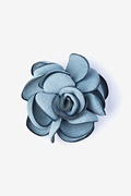 Blooming Flower Lapel Pin Photo (0)