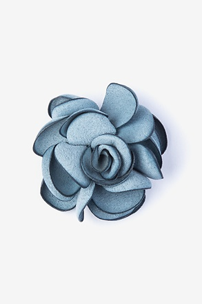 _Blooming Flower Slate Lapel Pin_