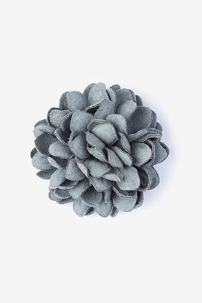 Chrysanthemum Slate Lapel Pin