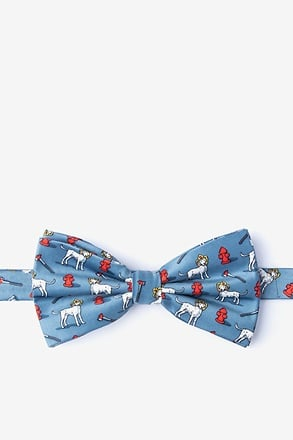 _Dalmatian Firefighter Pre-Tied Bow Tie_