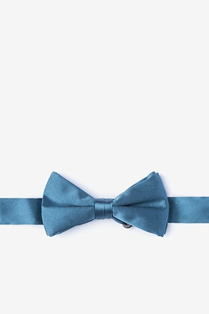Slate Bow Tie For Boys