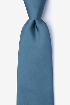 _Slate Extra Long Tie_