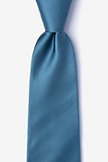 Slate Extra Long Tie