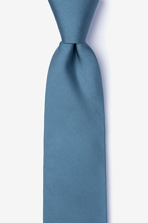 _Slate Tie For Boys_