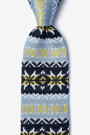 Winter Knit Tie