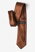 Spice Brown Extra Long Tie Photo (2)