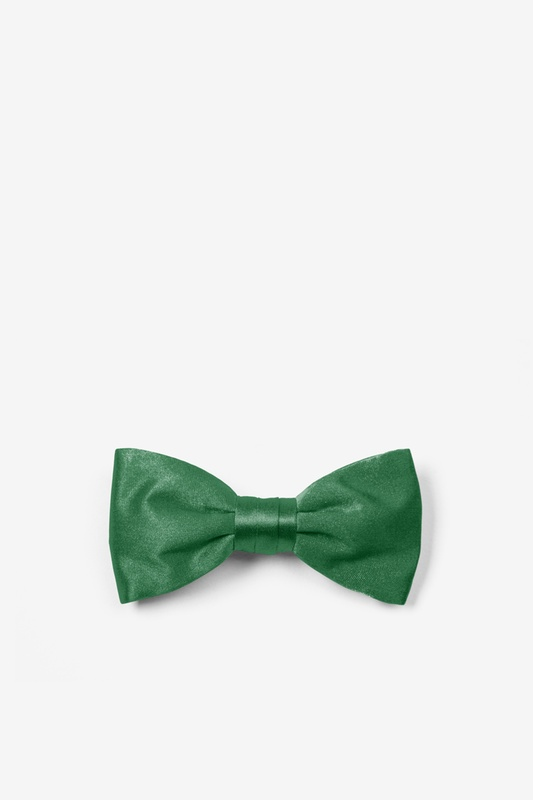 Spruce Green Bow Tie For Infants