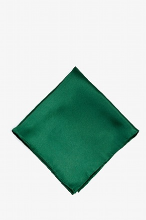 _Spruce Green Pocket Square_