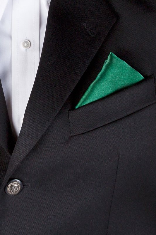 Spruce Green Pocket Square Photo (2)