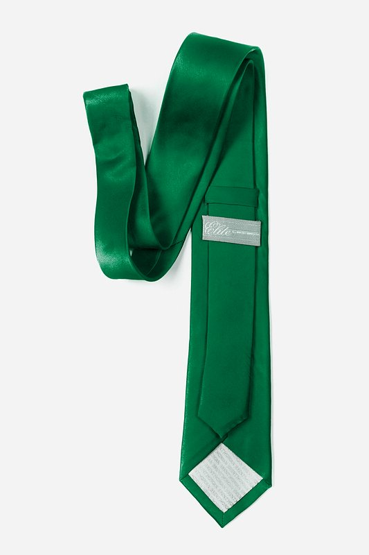Spruce Green Tie For Boys