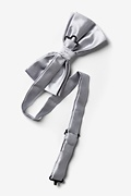 Sterling Silver Pre-Tied Bow Tie Photo (1)