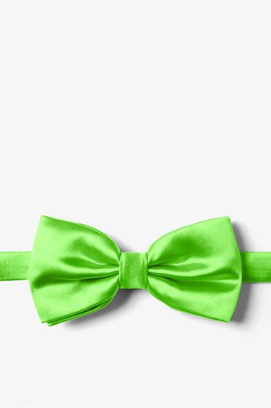 Summer Green Pre-Tied Bow Tie Photo (0)