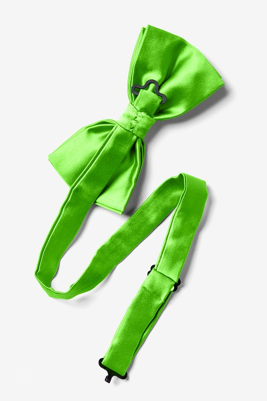 Summer Green Pre-Tied Bow Tie Photo (1)