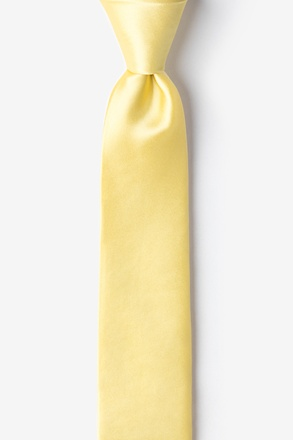 "Sunshine Yellow 2"" Skinny Tie"