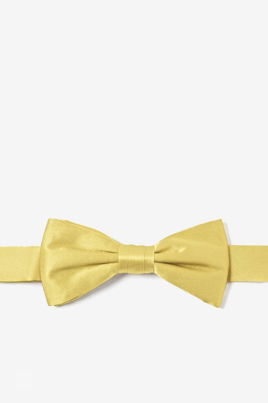 Sunshine Yellow Bow Tie For Boys Photo (0)