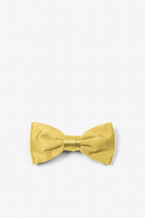 Sunshine Yellow Bow Tie For Infants