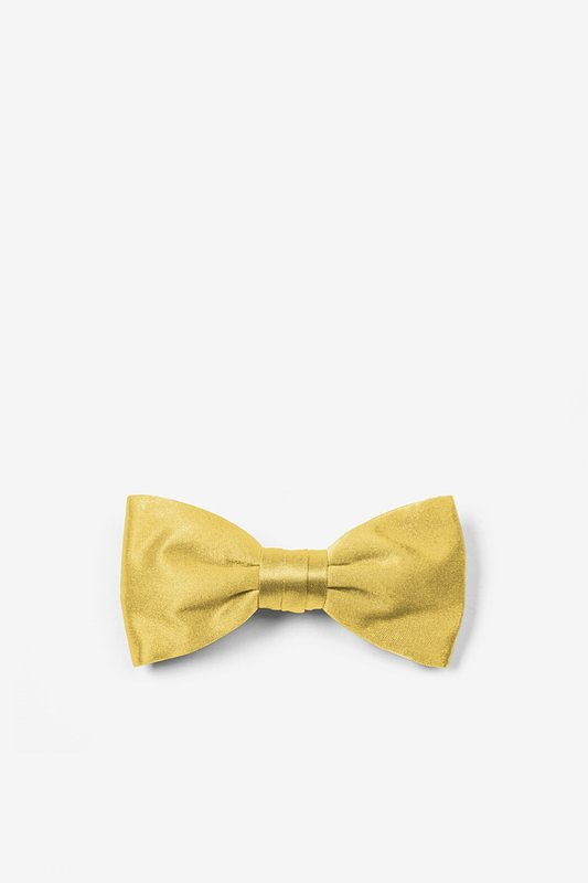 Sunshine Yellow Bow Tie For Infants Photo (0)