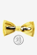 Sunshine Yellow Bow Tie For Infants Photo (1)