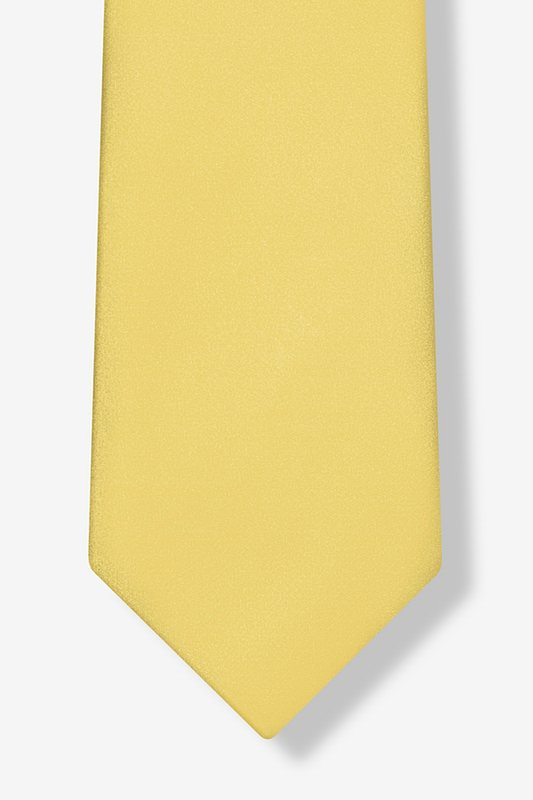 Sunshine Yellow Extra Long Tie