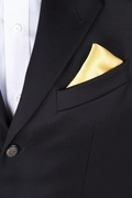 Sunshine Yellow Pocket Square