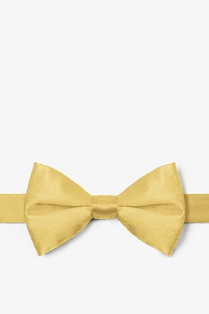 Sunshine Yellow Pre-Tied Bow Tie
