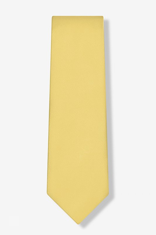 Sunshine Yellow Tie