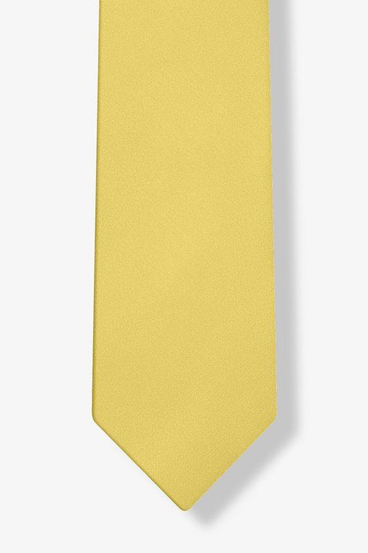Sunshine Yellow Tie For Boys Photo (3)