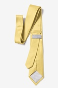 Sunshine Yellow Tie For Boys