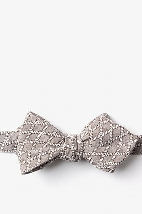 Redmond Diamond Tip Bow Tie