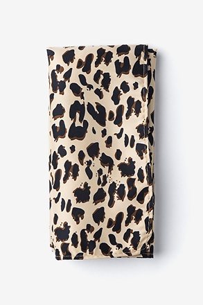 Leopard Animal Print Pocket Square