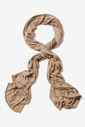 Oasis Tan/taupe Scarf by Scarves.com